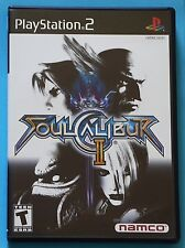 Soul Calibur II (Sony PlayStation 2, 2003) COMPLETE WITH DEMO DISK! WORKS!