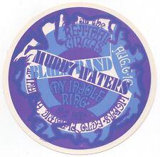 VINTAGE ORIGINAL MINT 68 MUDDY WATERS VANCOUVER BC FILLMORE ERA CONCERT HANDBILL