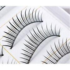 BOO111 - 10 paren van natuurlijke & regelmatige lang valse wimpers oog wimpers