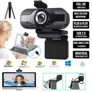 1080P Webcam Full HD USB 2.0 For PC Desktop & Laptop Web Camera with Microphone
