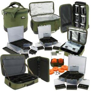NEW FISHING TACKLE BOX BAGS SYSTEMS, GLUG BAG, BAIT CARP CARRYALLS WEIGHTS BAG