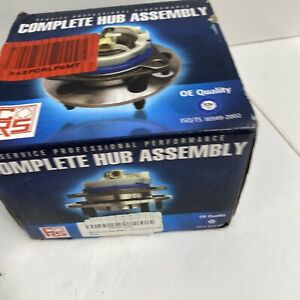 CRS Complete Hub Assembly NT515052 Ford 03-11 Ranger, 95-05 Sport (Trac). E2