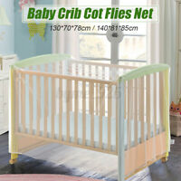 Baby Crib Cot Flies Folding Net Toddler Bed For Infant Mosquito Netting Children