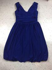 Royal Blue Semi- Formal Bubble Dress By Scarlett Nite, Size 6, Wedding / Prom
