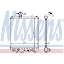 Kühler, Motorkühlung NISSENS 63014A