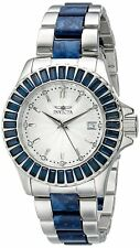 Invicta 18876 Angel Women's 38mm Stainless Steel Silver Dial Blue Crystal Watch