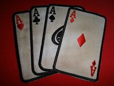 Vietnam War Patch STACKED Poker DECK Non-Commissioned Officer NCO Club