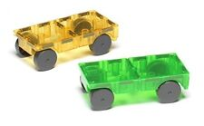 Magna-Tiles 16022 Cars 2 Piece Expansion Set
