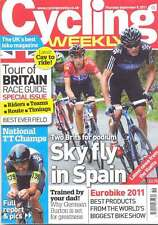 Cycling Weekly 8 Sep 2011 Mag Tour of Britain race guide, Germain Burton