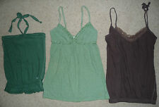 Lot Abercrombie & Fitch Hollister blouses tunic tank tops babydoll shirt Size xs