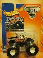 HOT Wheels 2003 #20 1st ED * Jurassic Attack * MONSTER JAM Rare & VHTF FREE SHIP
