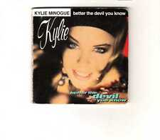 "Kylie Minogue - Better The Devil You Know - 3"" CDS - 1990 - Pop 2TR Stock Aitken"
