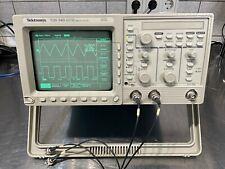 Tektronix TDS340 Oszilloskop 100MHz FFT 6Monate Garantie