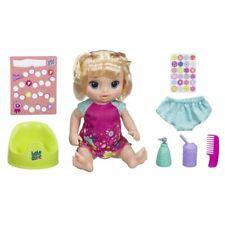 Baby Alive Happy faim bébé Droite Cheveux Bruns Poupée Brand New *