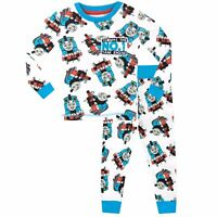 Thomas the Tank Engine Pyjamas | Boys Thomas & Friends PJs | Snug Fit Pyjama Set