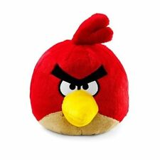 "Angry Birds Red Plush Doll Soft Stuff Toy 8"" NEW"