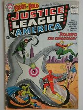 THE BRAVE AND THE BOLD #28***1ST APPEARANCE OF THE JUSTICE LEAGUE**(1960) No CGC