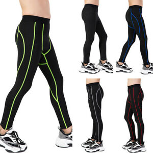Child Sports Trousers Quick Dry Tights Elastic Fitness Pants Football Running