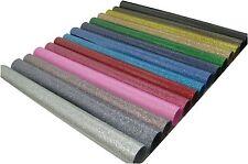 "Siser Glitter 14 colors kit Heat Press Transfer Vinyl 20""x12"" faux stones effect"
