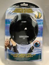 Coby Personal CD Player CX-CD109 With Headphones Black
