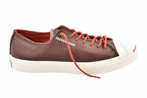 Converse Unisex Jack Purcell Trainers Red Rot Bordo