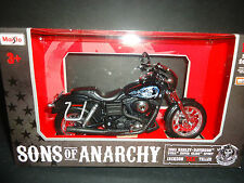 Maisto Harley Davidson Dyna Super Glide Sport 2003 Jackson Jax Teller SOA 1/12