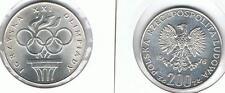 200 Zl Silbermuenze XXI Olympiade 1976 14,5 gr !,Silber TOP, Zustand,