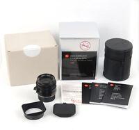 New Leica Summilux-M 35mm f/1.4 ASPH black #11663 for M10 M9 M9P M-P M Monochrom
