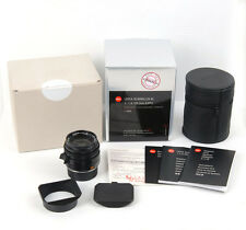 New Leica Summilux-M 35mm f/1.4 ASPH black #11663 for M10 M9 M9P M-P M Monochrom