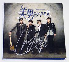 You're Beautiful Pt.1 SBS TV DRAMA OST [LEE HONG KI FTISLAND AUTOGRAPHED CD]