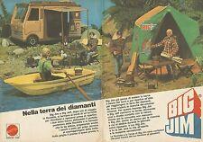 X9457 BIG JIM - Nella terra dei diamanti - Pubblicità 1977 - Advertising