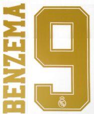 2019-20 Real Madrid UCL Home/Away Shirt BENZEMA#9 SportingiD Name Number Set