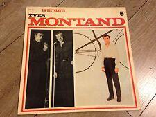 YVES MONTAND  33t Philips la bicyclette le jazz et la java le télégramme etc...
