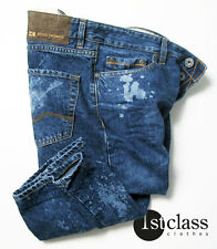 BOSS Orange 25 Jeans Spot in 33/34 Regular Fit Blue ACIDO lavare