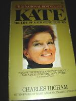 Kate The Life Of Katharine Hepburn By Charles Higham 1st Print 1976 Paperback