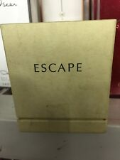 ESCAPE PARFUM 0.25oz - 7ml SPLASH Pure Perfume CK NEW