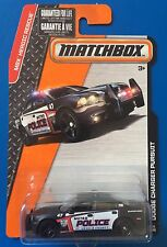 2015 Matchbox V8 2012 DODGE CHARGER PURSUIT POLICE SPECIAL INTERCEPTOR mint!