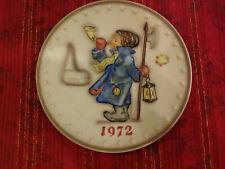 "Hummel Goebel 7 1/2"" Annual Plate 1972 #265 Actual Item PreOwned"