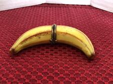 Limoges France Peint Main Trinket Box - Banana