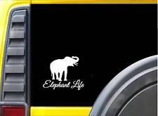 Elephant Life Sticker k683 6 inch rescue decal