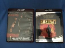 UNFORGIVEN, BACKDRAFT 2-Movie Lot HDDVD Clint Eastwood Kurt Russell Gene Hackman
