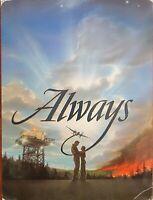 Always Original 1989 World Premiere Movie Program