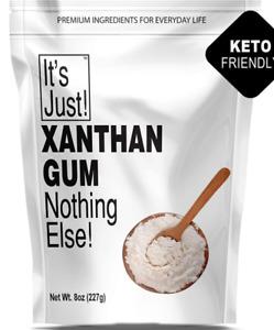 Xanthan Gum,Keto Baking&Cooking, GLUTEN-FREE(8ounce)