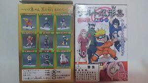 Bandai Naruto Ninja Ningyou Collection Trading Figure Part Vol 1 Full Set of 9