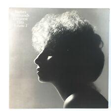 Barbara Streisand's Greatest Hits Volume 2  LP Record 1978 (A-6