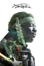 Jimi Hendrix - Brand New Licensed Maxi Poster 91.5 x 61cm - Double Exposure