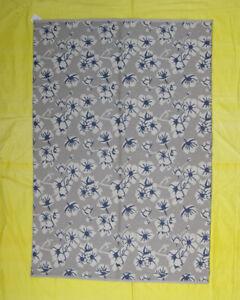 Grey Color Flower Design Bohemian Design Turkish 5x7 ft Woolen Kilim Area Rug