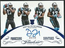 2015 Panini Flawless DEVIN FUNCHESS RC Progressions Blue Parallel Auto #09/20