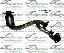 Catalytic Converter-Exact-Fit Front Davico Exc CA 19067