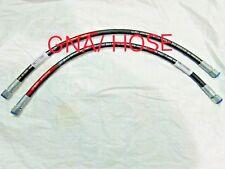 Jcb Spare Parts Hose 3/8Bsp 530 Mm, Qty 2 Pcs. Part No. 612/80099